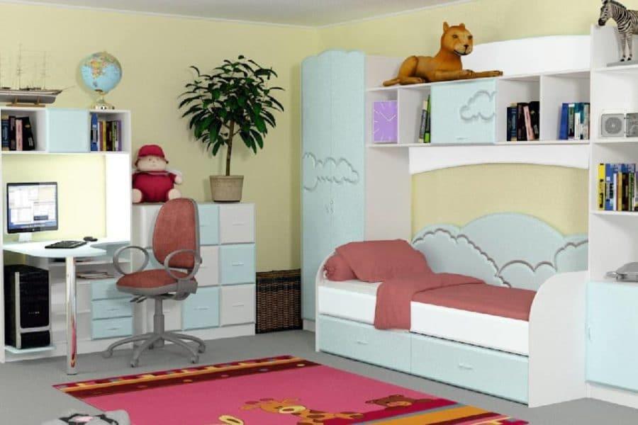 Набор детской мебели Облако фото | интернет-магазин Складно