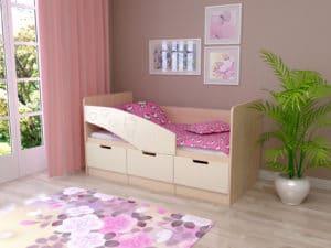 Детская кровать Бемби-7 Hello Kitty  5990  рублей, фото 1 | интернет-магазин Складно