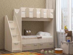 Двухъярусная кровать Бемби-11 14970 рублей, фото 3 | интернет-магазин Складно