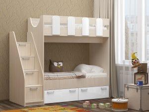 Двухъярусная кровать Бемби-11 14970 рублей, фото 2 | интернет-магазин Складно