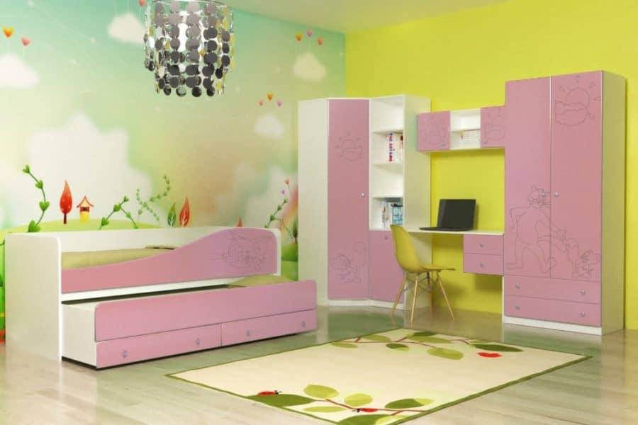 Набор детской мебели Том и Джери вариант 2 фото | интернет-магазин Складно
