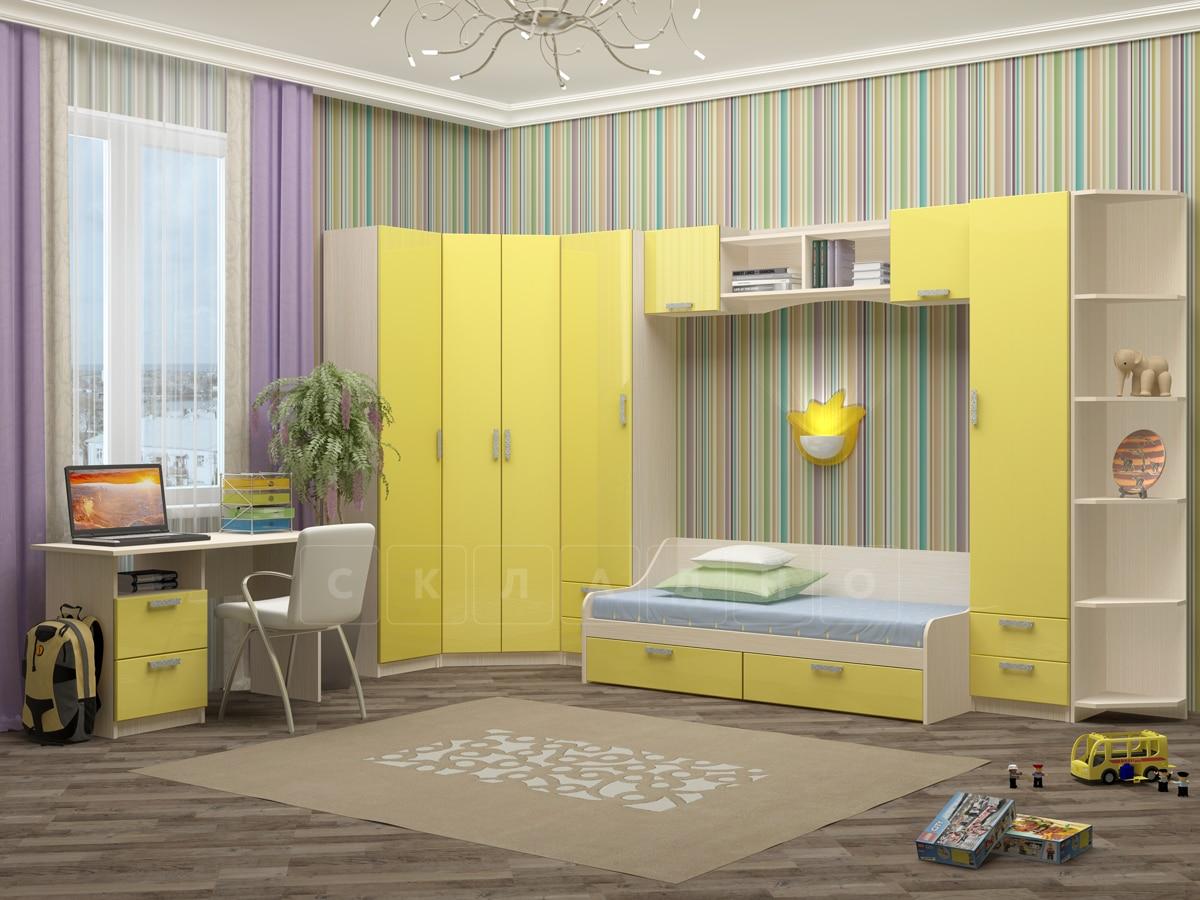 Набор детской мебели Юниор-7 мдф вариант 1 фото 1 | интернет-магазин Складно