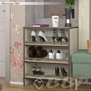 Обувница 4 открытая 1990 рублей, фото 2 | интернет-магазин Складно