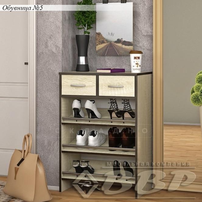 Обувница 5 с двумя ящиками фото 2   интернет-магазин Складно