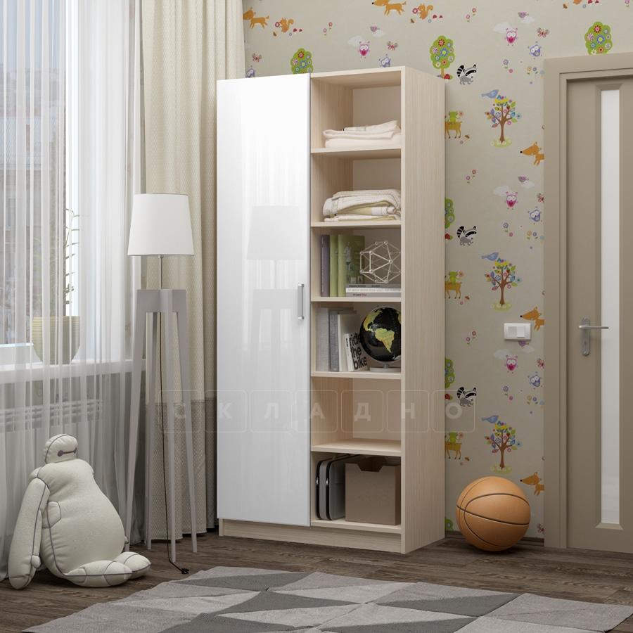 Шкаф в детскую Бемби-9 фото 4 | интернет-магазин Складно