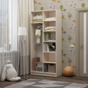 Шкаф в детскую Бемби-9 7350 рублей, фото 2 | интернет-магазин Складно