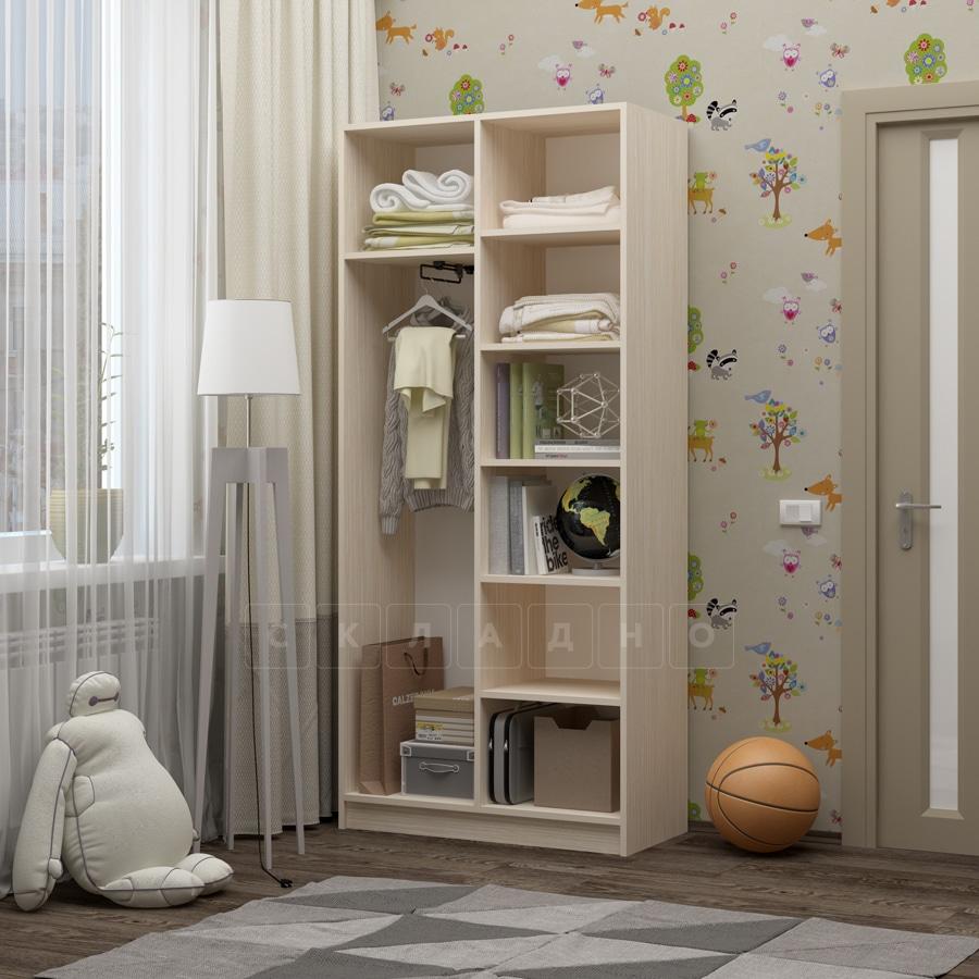 Шкаф в детскую Бемби-9 фото 2 | интернет-магазин Складно