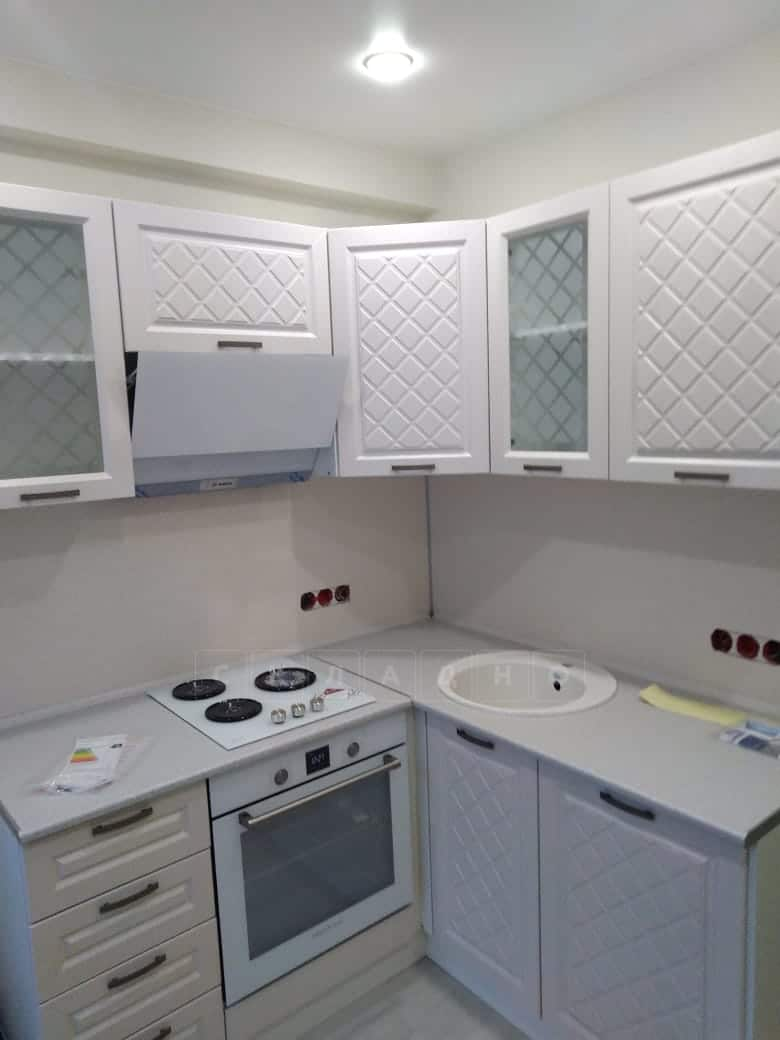 Кухня угловая с пеналом Агава 1,45х2,75м фото 9 | интернет-магазин Складно
