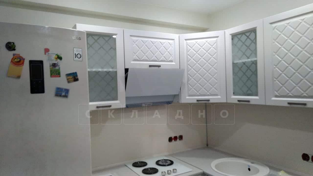 Кухня угловая с пеналом Агава 1,45х2,75м фото 8 | интернет-магазин Складно