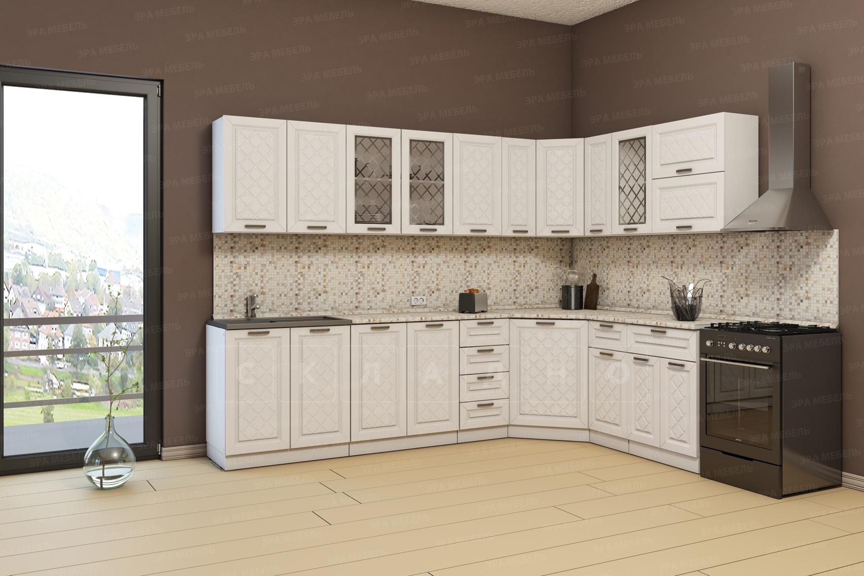Кухня угловая Агава 1,85х2,85м фото 1 | интернет-магазин Складно