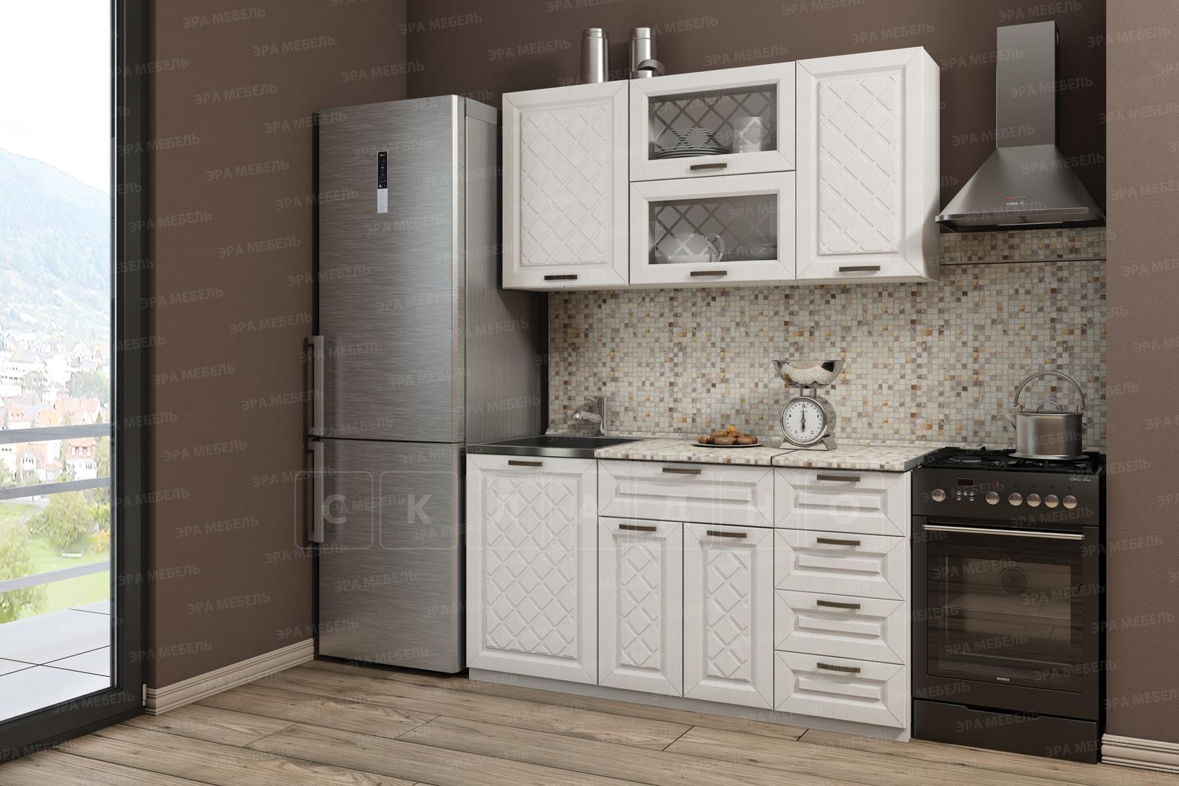 Кухонный гарнитур Агава 1,5 м вариант 2 фото 1   интернет-магазин Складно