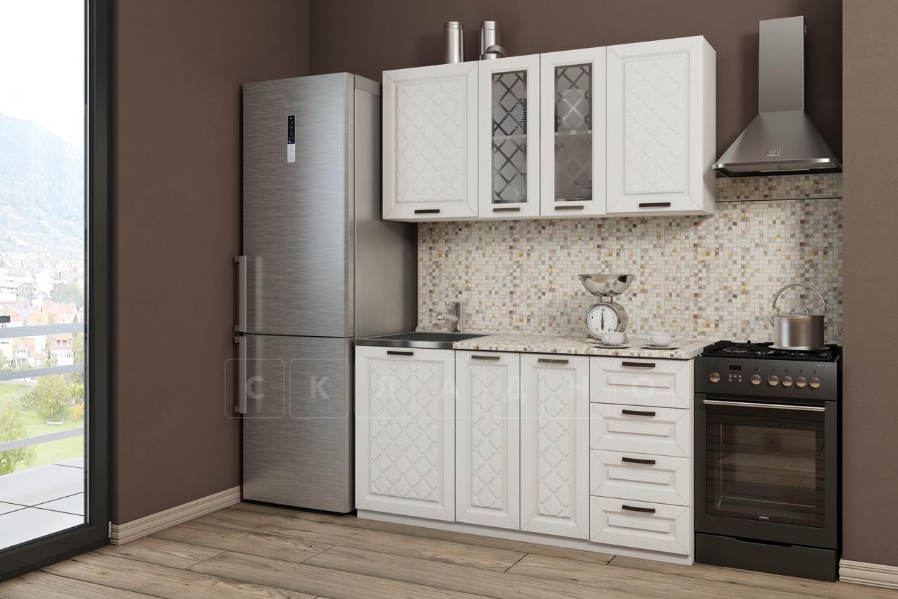 Кухонный гарнитур Агава 1,5м вариант 1 фото 1 | интернет-магазин Складно