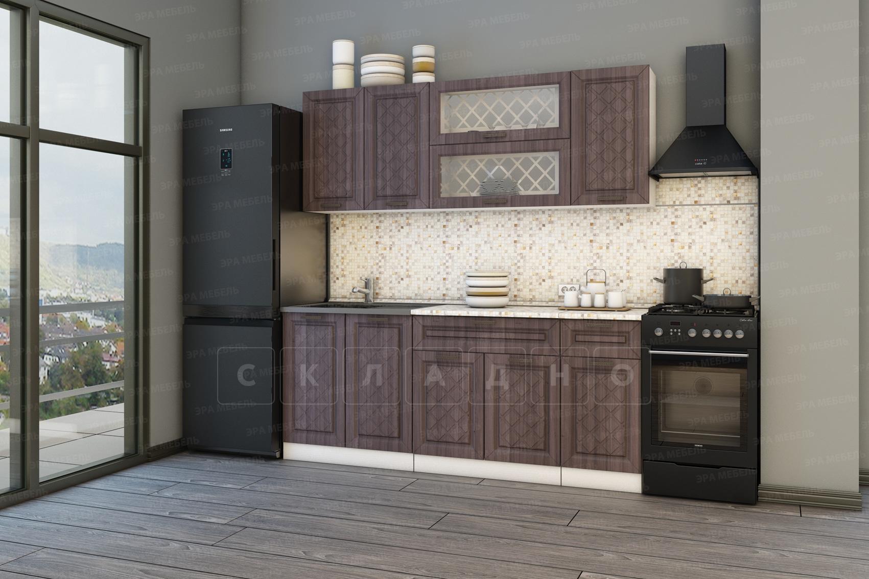 Кухонный гарнитур Агава 2,0 м вариант 2 фото 2 | интернет-магазин Складно