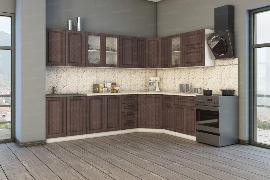 Кухня угловая Агава 1,85х2,85м фото 2 | интернет-магазин Складно