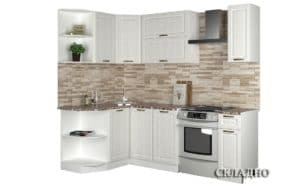 Кухня угловая Агава 1,3х1,7м фото | интернет-магазин Складно