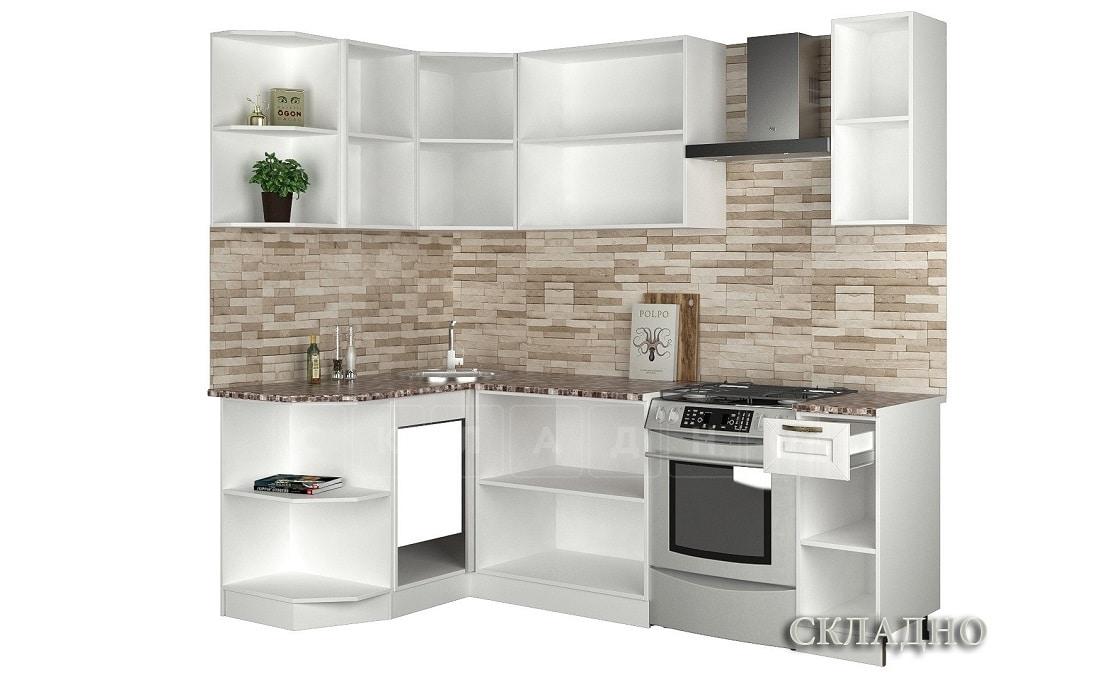 Кухня угловая Агава 1,3х1,7 м фото 2 | интернет-магазин Складно