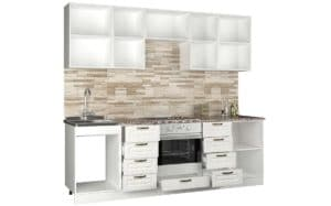 Кухонный гарнитур Агава 2,4м фото | интернет-магазин Складно