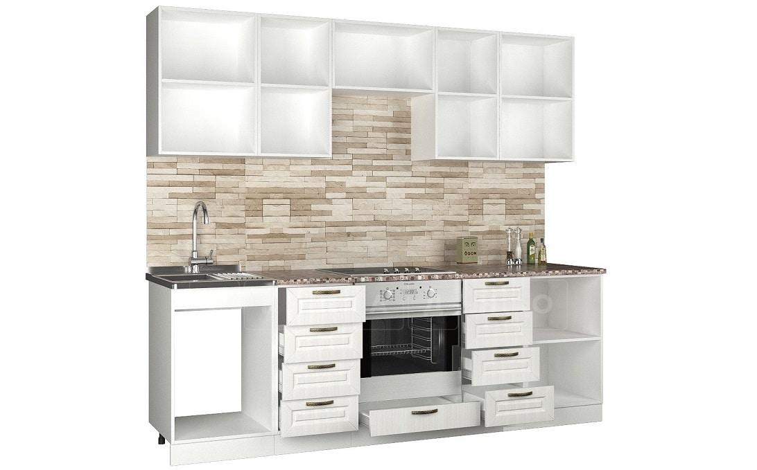 Кухонный гарнитур Агава 2,4 м фото 2 | интернет-магазин Складно