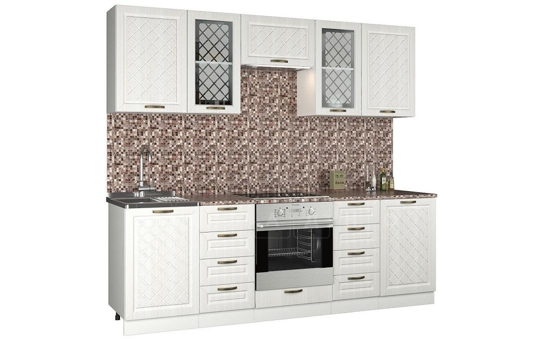 Кухонный гарнитур Агава 2,4 м фото 1 | интернет-магазин Складно