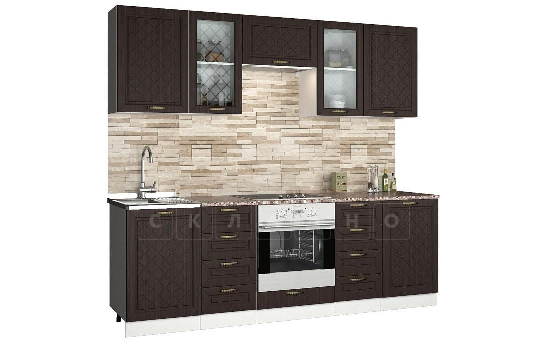 Кухонный гарнитур Агава 2,4 м фото 3 | интернет-магазин Складно