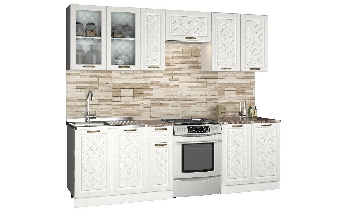 Кухонный гарнитур Агава 2,5м фото 1 | интернет-магазин Складно