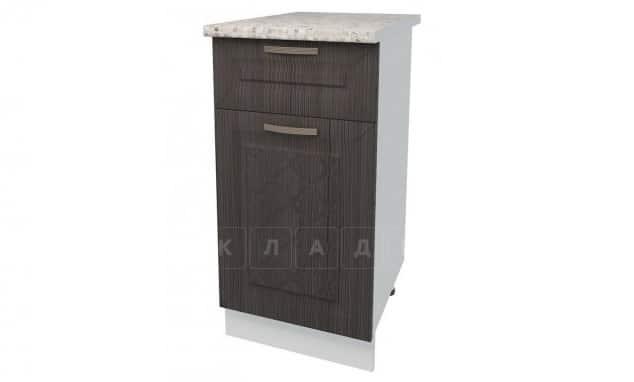 Кухонный шкаф напольный Агава ШН1Я40 с 1 ящиком фото 3 | интернет-магазин Складно