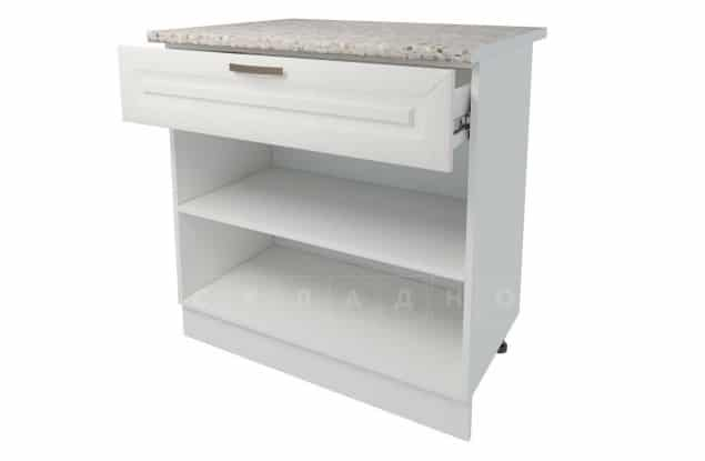Кухонный шкаф напольный Агава ШН1Я80 с 1 ящиком фото 2 | интернет-магазин Складно