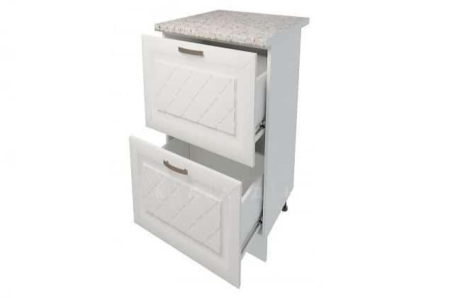 Кухонный шкаф напольный Агава ШН2Я40 с 2 ящиками фото 2 | интернет-магазин Складно