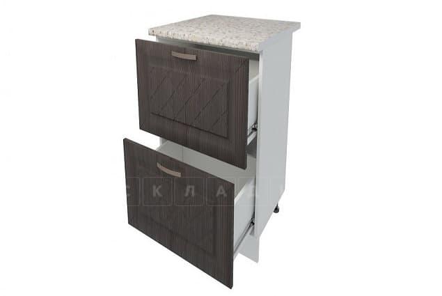 Кухонный шкаф напольный Агава ШН2Я40 с 2 ящиками фото 4 | интернет-магазин Складно