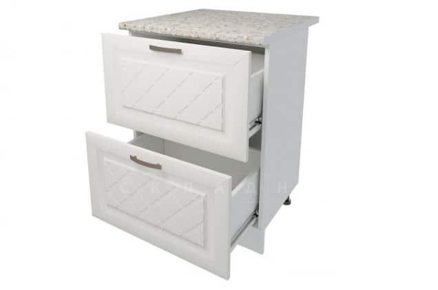 Кухонный шкаф напольный Агава ШН2Я60 с 2 ящиками фото 2 | интернет-магазин Складно