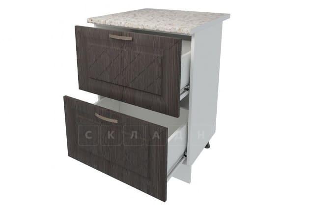 Кухонный шкаф напольный Агава ШН2Я60 с 2 ящиками фото 4 | интернет-магазин Складно