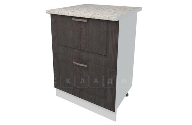 Кухонный шкаф напольный Агава ШН2Я60 с 2 ящиками фото 3 | интернет-магазин Складно