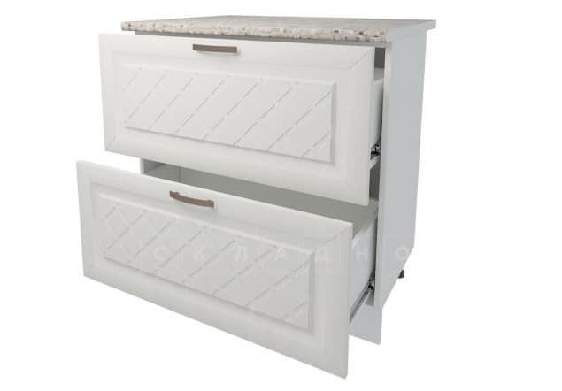 Кухонный шкаф напольный Агава ШН2Я80 с 2 ящиками фото 2 | интернет-магазин Складно