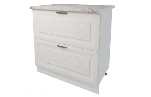 Кухонный шкаф напольный Агава ШН2Я80 с 2 ящиками фото 1 | интернет-магазин Складно