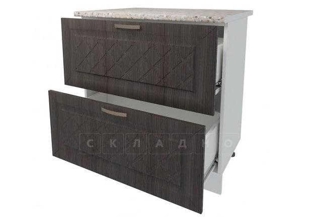 Кухонный шкаф напольный Агава ШН2Я80 с 2 ящиками фото 4 | интернет-магазин Складно
