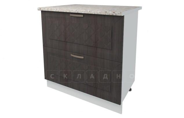 Кухонный шкаф напольный Агава ШН2Я80 с 2 ящиками фото 3 | интернет-магазин Складно