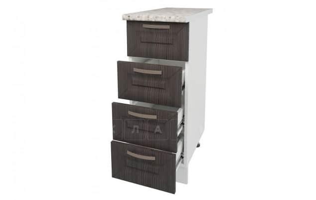 Кухонный шкаф напольный Агава ШНЯ30 с 4 ящиками фото 4 | интернет-магазин Складно