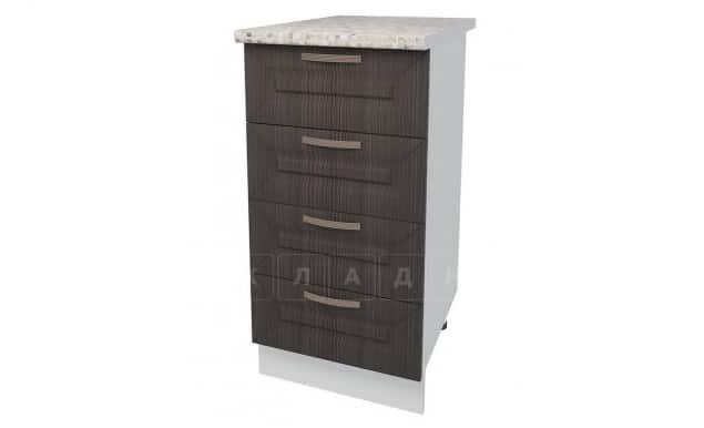 Кухонный шкаф напольный Агава ШНЯ40 с 4 ящиками фото 3 | интернет-магазин Складно