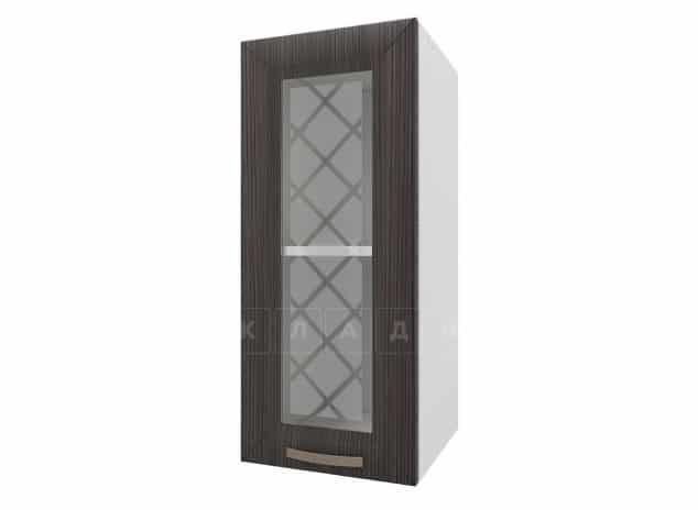 Кухонный навесной шкаф со стеклом Агава ШВС30 фото 3 | интернет-магазин Складно