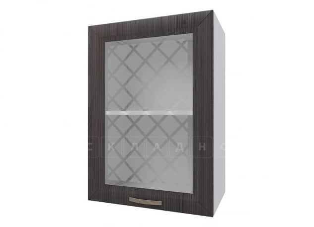 Кухонный навесной шкаф со стеклом Агава ШВС50 фото 3 | интернет-магазин Складно