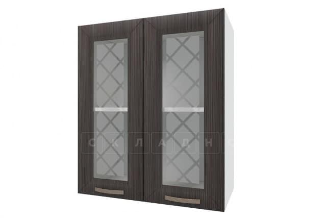 Кухонный навесной шкаф со стеклом Агава ШВС60 фото 3 | интернет-магазин Складно