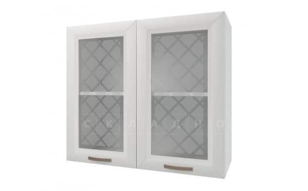 Кухонный навесной шкаф со стеклом Агава ШВС80 h70 фото 1 | интернет-магазин Складно