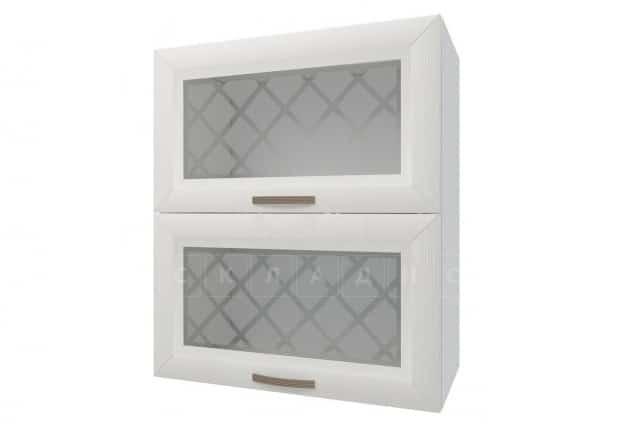 Кухонный навесной шкаф горизонтальный со стеклом Агава ШВГС60 фото 1 | интернет-магазин Складно