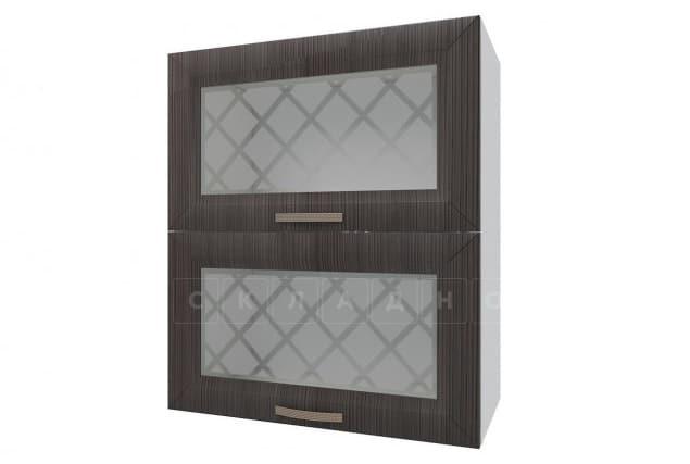 Кухонный навесной шкаф горизонтальный со стеклом Агава ШВГС60 фото 3 | интернет-магазин Складно