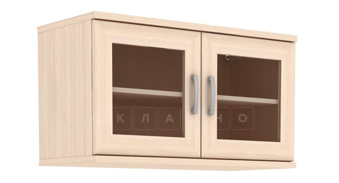 Антресоль 702-02 две дверцы со стеклом фото 3 | интернет-магазин Складно