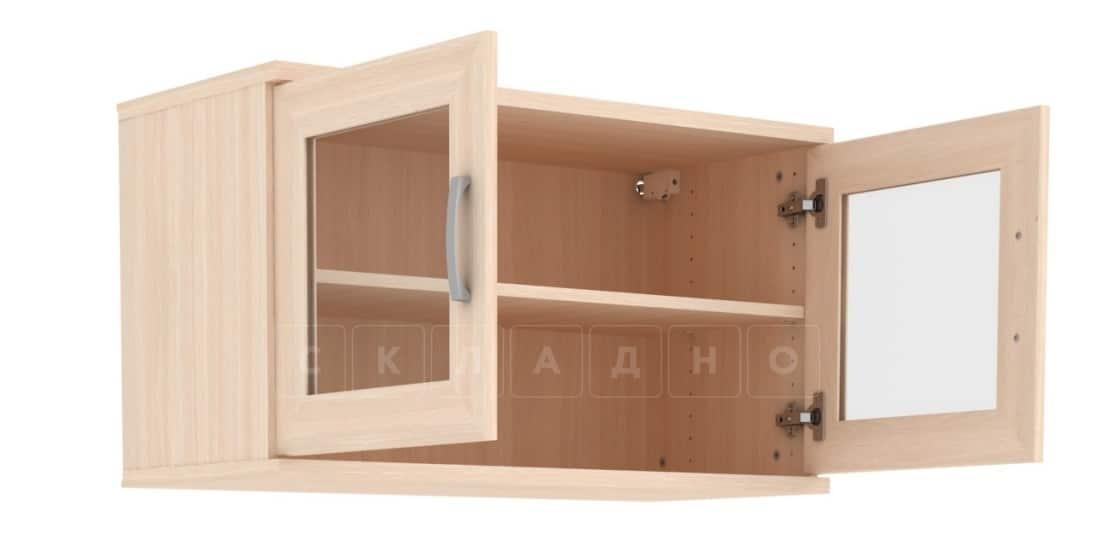 Антресоль 702-02 две дверцы со стеклом фото 4 | интернет-магазин Складно