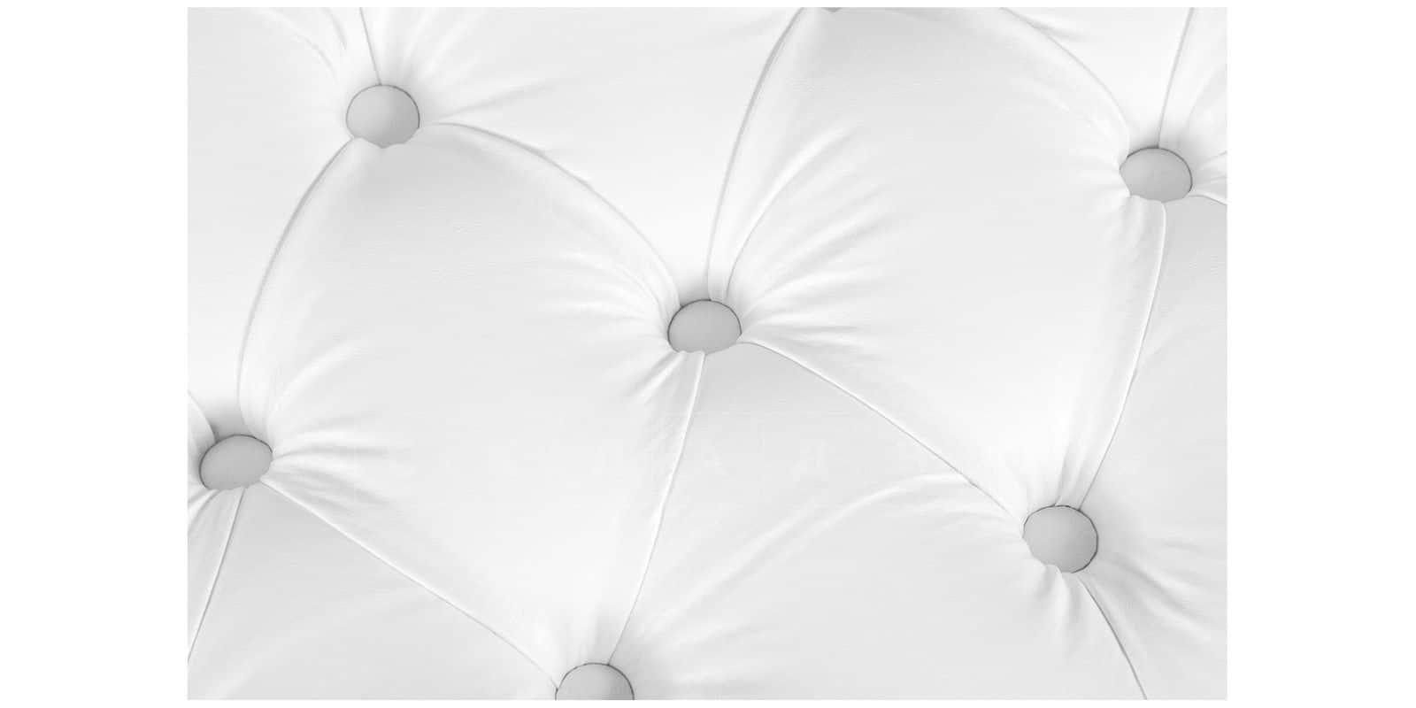 Банкетка Малибу белая фото 6 | интернет-магазин Складно