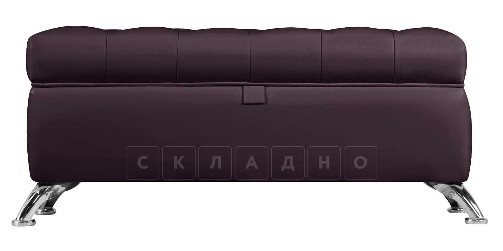 Банкетка Малибу шоколад фото 2 | интернет-магазин Складно