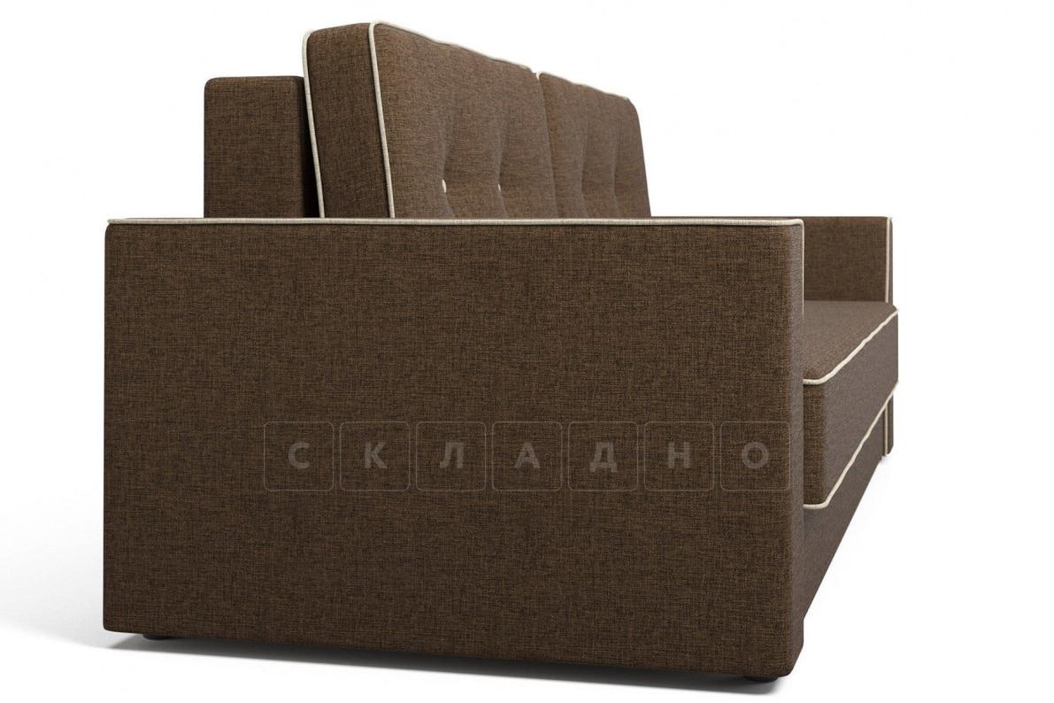 Диван Орландо коричневый фото 3 | интернет-магазин Складно