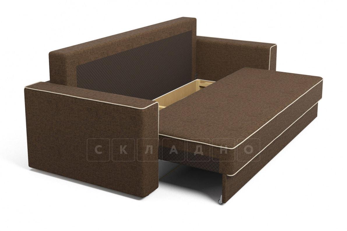 Диван Орландо коричневый фото 5 | интернет-магазин Складно